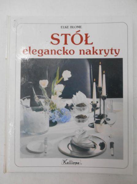 Stół elegancko nakryty