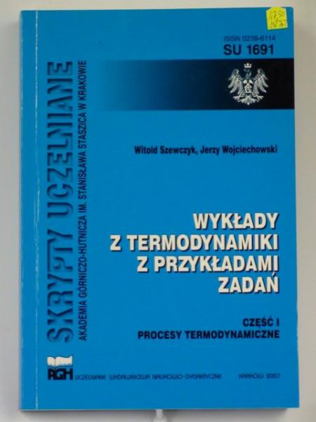 Szewczyk W.,   - Wykłady z termodynamiki z przykładami zadań