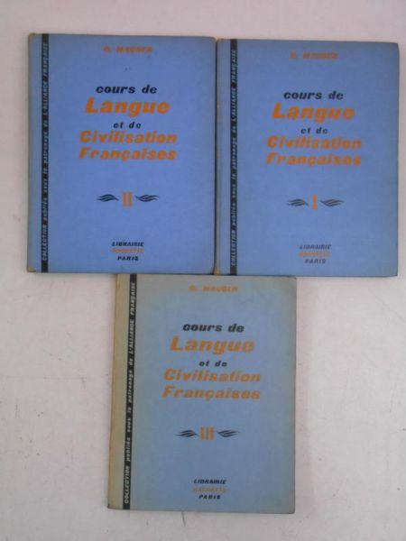 Cours de langue et de civilisation francaises mauger