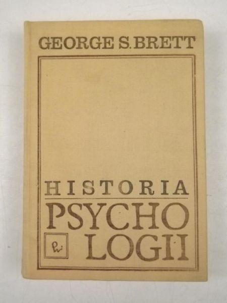 Brett George Sidney - Historia psychologii