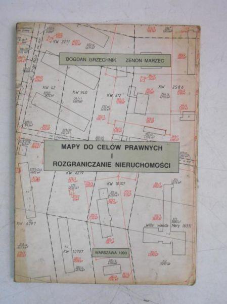 Mapy do celów prawnych i rozgraniczanie nieruchomości