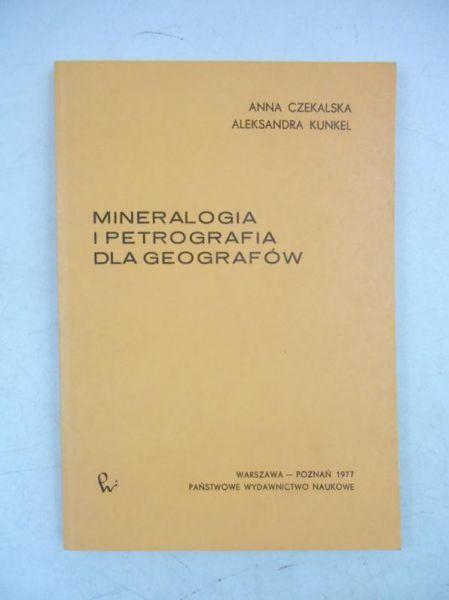 Mineralogia i petrografia dla geografów