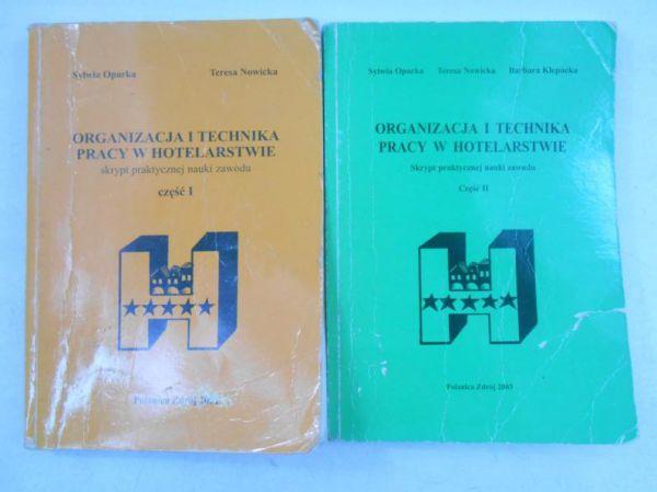 Organizacja i technika pracy w hotelarstwie, część I-II