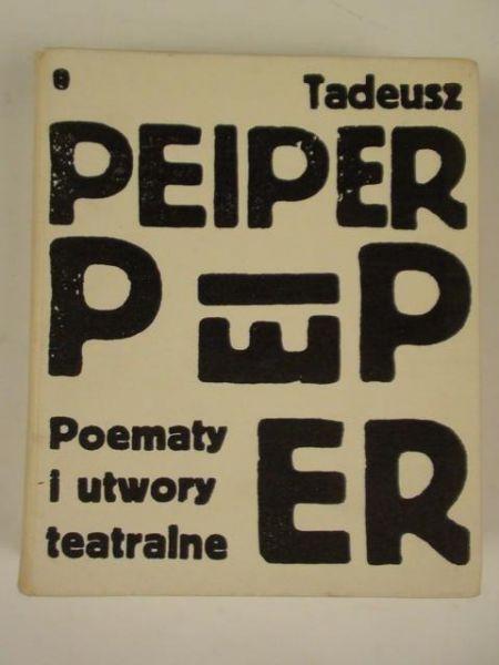 Poematy i utwory teatralne