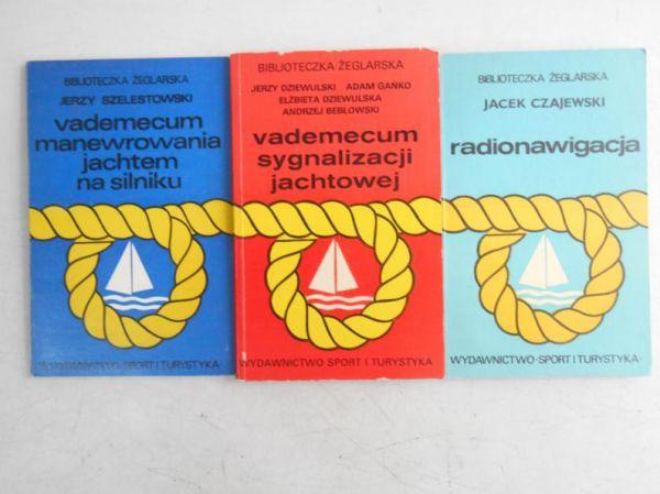 Biblioteczka żeglarska, 3 ksiązki