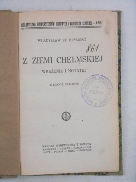 Z ziemi chełmskiej, 1927 r.