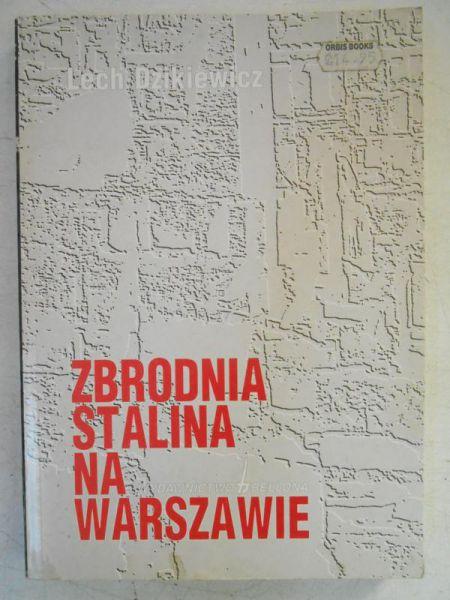 Zbrodnia Stalina na Warszawie