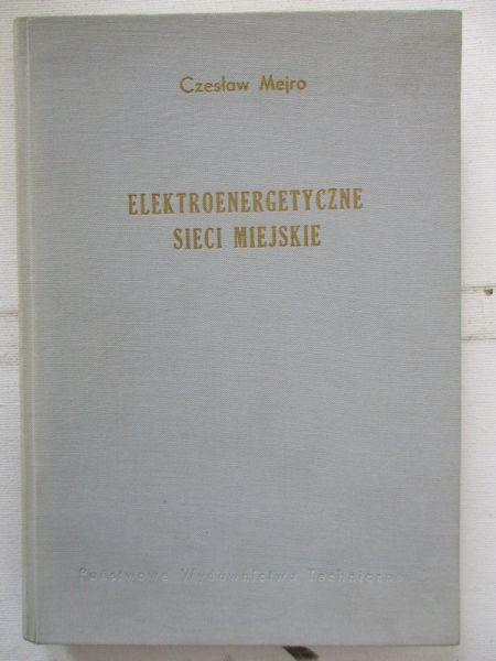 Elektroenergetyczne sieci miejskie