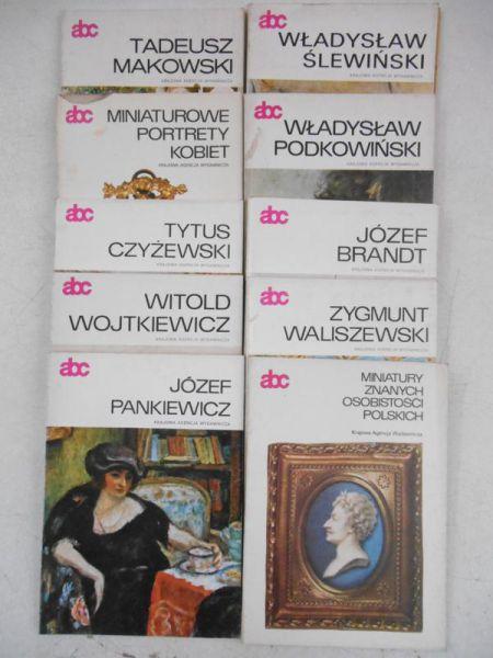 Seria ABC, 9 książek