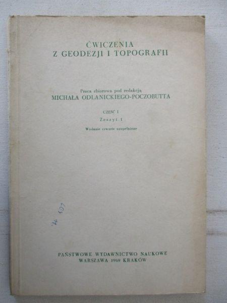 Ćwiczenia z geodezji i topografii cz.I