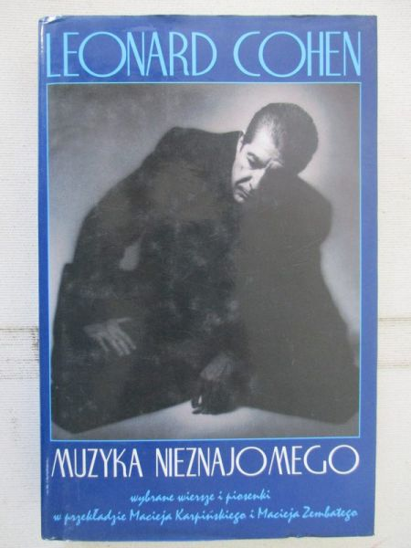 Muzyka Nieznajomego Leonard Cohen 3430 Zł Tezeuszpl