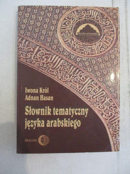 Król Iwona - Słownik tematyczny języka arabskiego