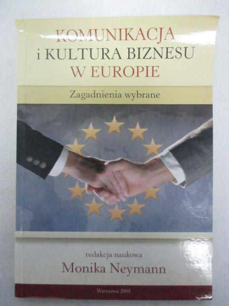 Komunikacja i kultura biznesu w Europie