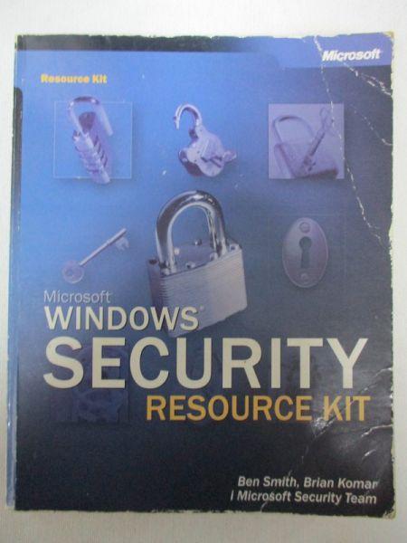 Microsoft Windows Security. Resource Kit