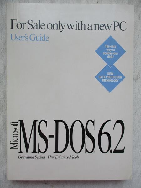 User's Guide. Microsoft MSDOS 6.2