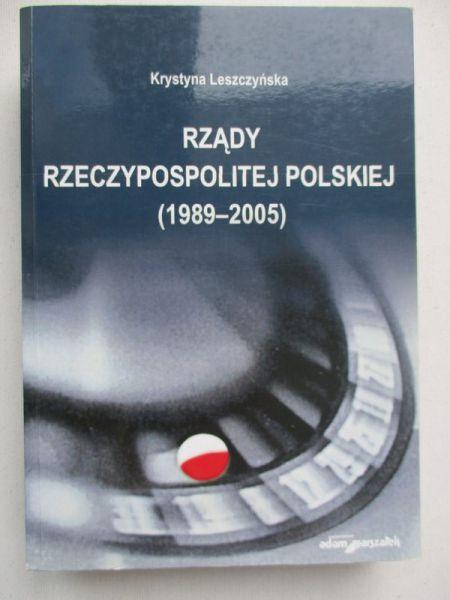 Leszczyńska Krystyna - Rządy Rzeczpospolitej Polskiej (1989-2005)