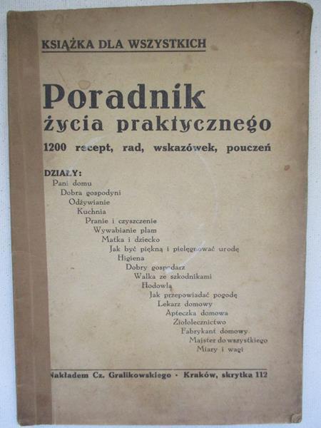 Poradnik życia Praktycznego 1200 Recept Rad Wskazówek