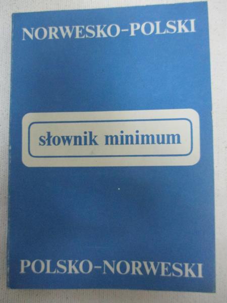 Słownik minimum Norwesko-Polski