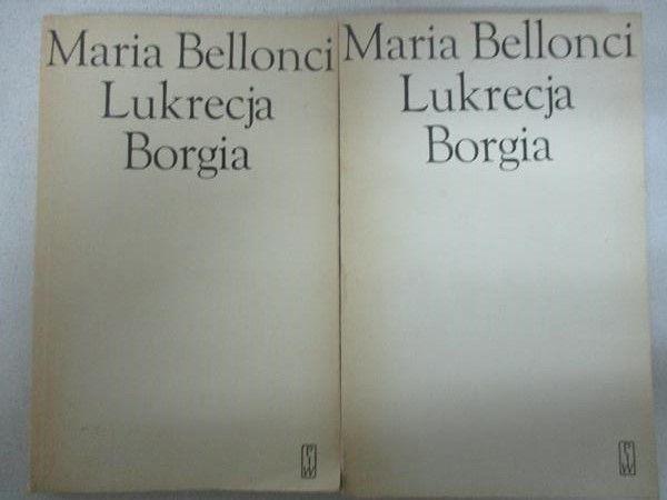 Lukrecja Borgia, tom I i II