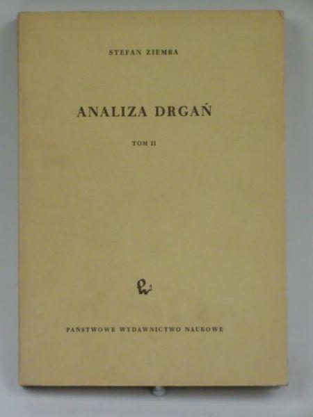 Analiza drgań, t. II