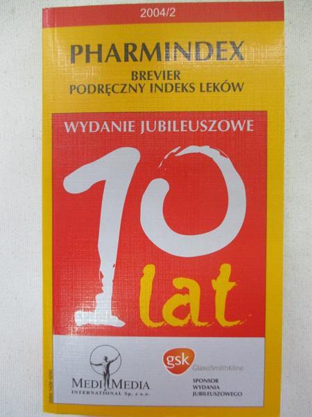 Ślugaj Ilona (red.) - Pharmindex Brevier Podręczny indeks leków