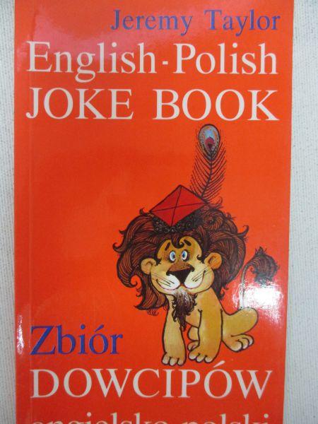 Znalezione obrazy dla zapytania Jeremy Taylor English - Polish Joke Book
