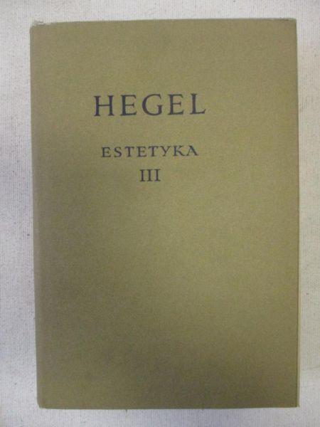 Estetyka, tom III