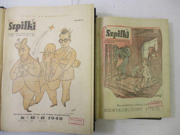 Szpilki, roczniki 1947 i 1948 r.