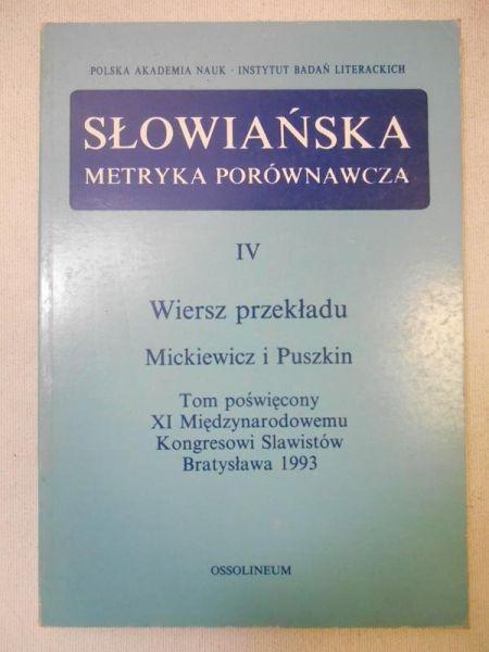 Słowiańska metryka porównawcza