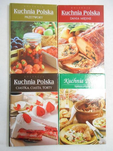 Seria Kuchnia Polska Praca Zbiorowa 1260 Zł Tezeuszpl