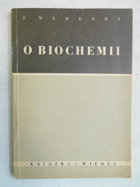 O biochemii