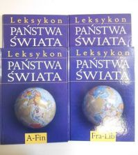 Leksykon Państwa świata, t. I-IV (komplet)