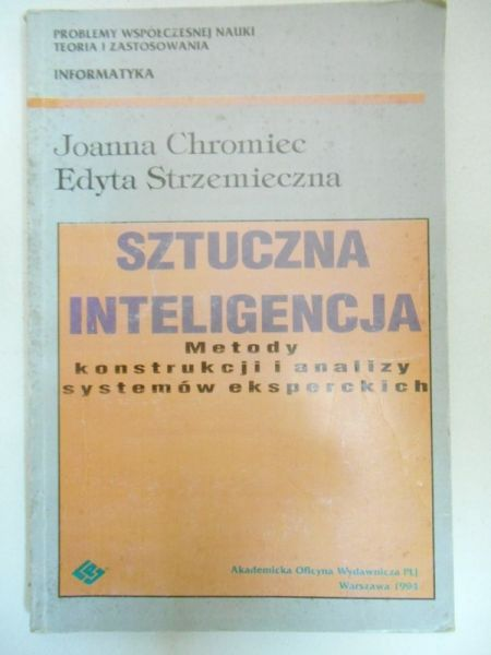 Chromiec Joanna, Strzemieczna Edyta  - Sztuczna inteligencja