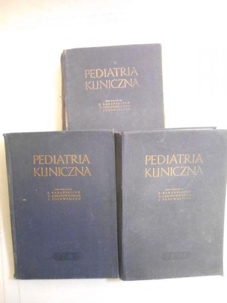 Pediatria kliniczna, Tom I-III