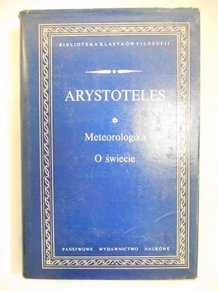Arystoteles - Meteorologia o świecie