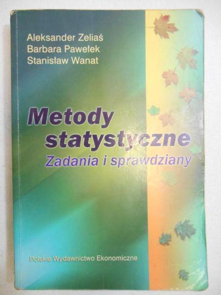 Metody statystyczne. Zadania i sprawdziany