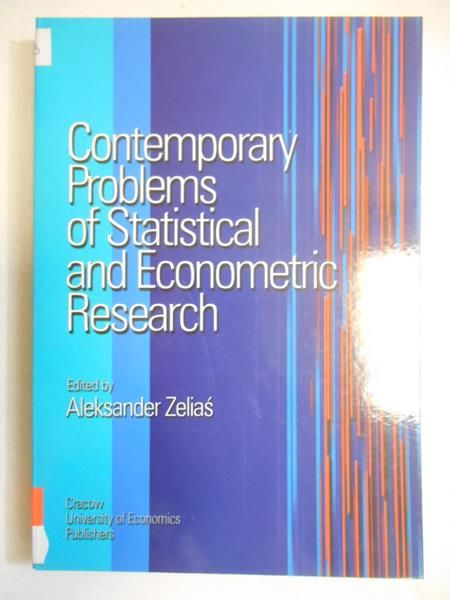 Zelias  - Contemporary Problems of Statistical and Econometric Research