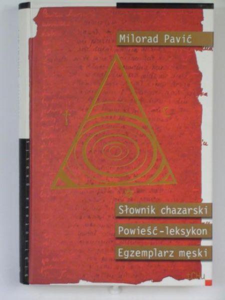 Pavić Milorad - Słownik chazarski
