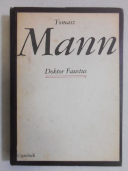 Mann Tomasz Doktor Faustus