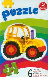 Pierwsze puzzle Pojazdy
