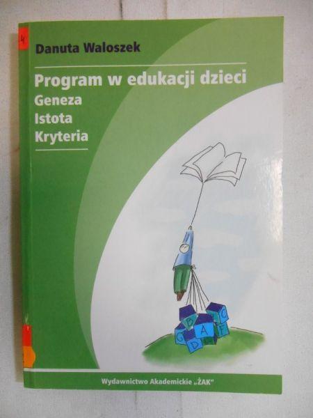 Program w edukacji dzieci