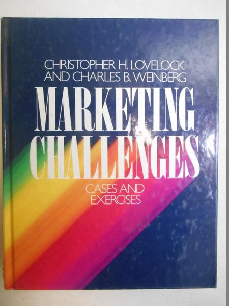 Lovelock Christopher H. - Marketing challenges