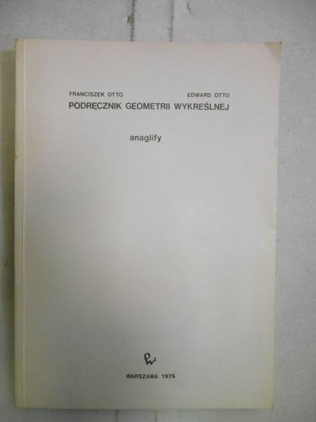Podręcznik do geometrii wykreślnej