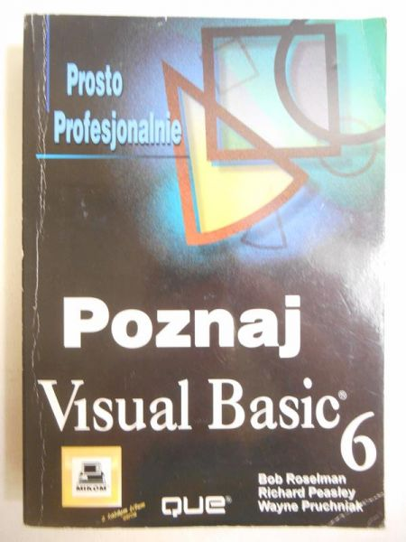 Roselman Bob - Poznaj Visual Basic 6