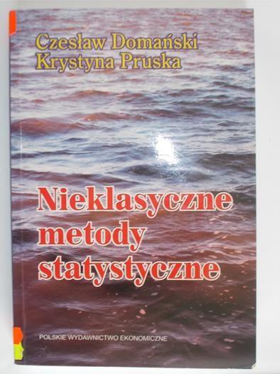 Domański Czesław,   - Nieklasyczne metody statystyczne