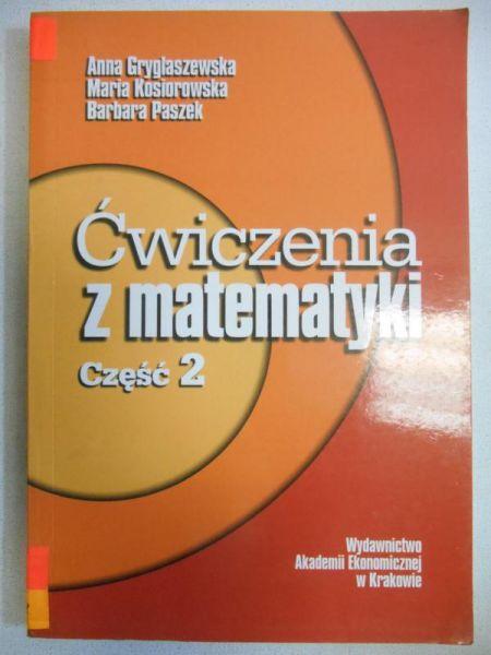 Ćwiczenia z matematyki