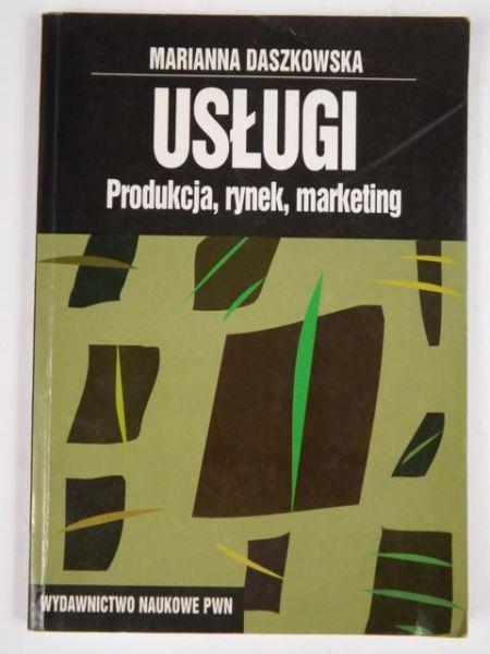 Daszkowska Marianna - Usługi: Produkcja, rynek, marketing