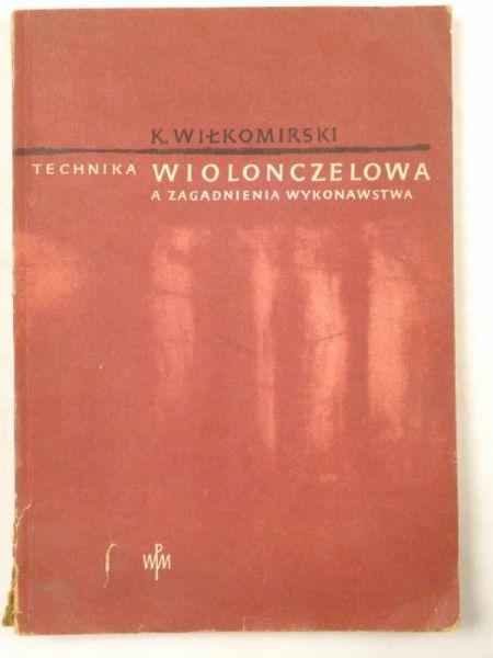Technika wiolonczelowa a zagadnienia wykonawstwa