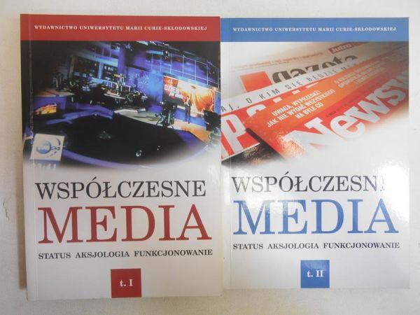 Hofman Iwona (red.) - Współczesne media, T. I-II