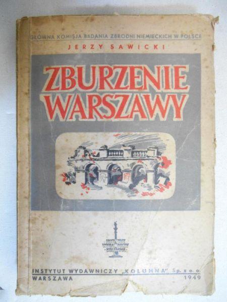 Zburzenie Warszawy, 1949 r.